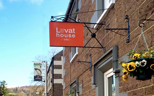 Lovat House front Door